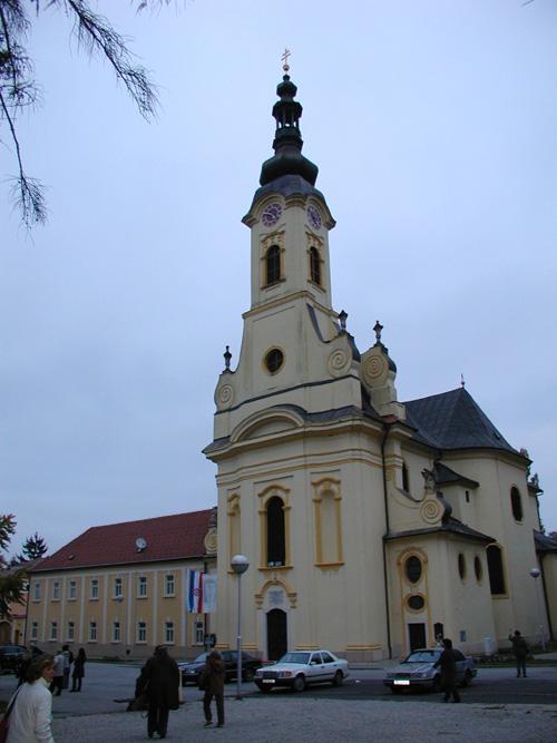 Sveta Terezija Avilska - katedrala u Požegi