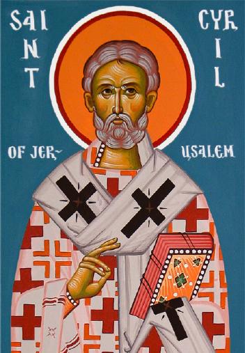 Sveti Ćiril Jeruzalemski